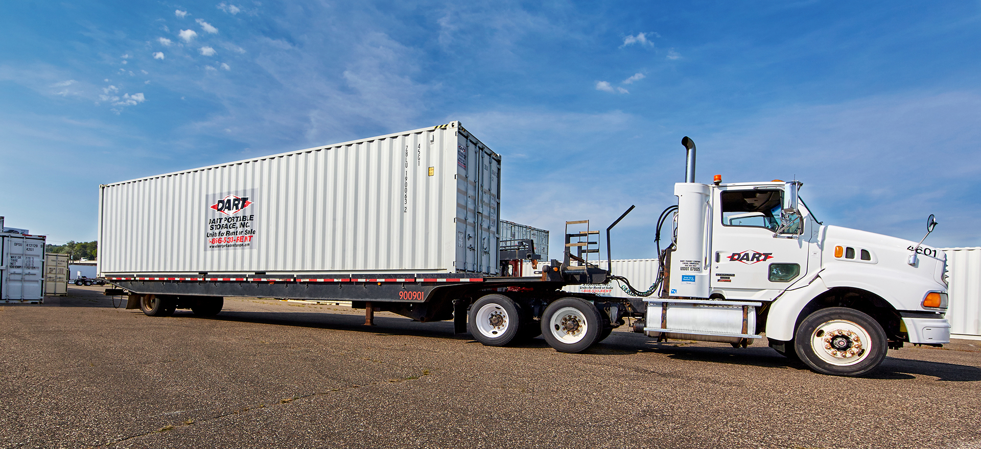 Container delivery to your final destination