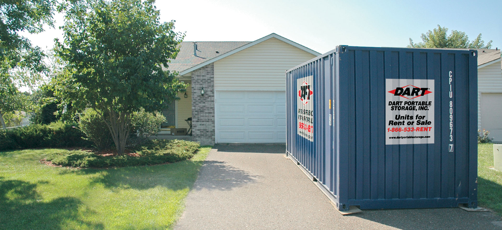 Temporary home storage solutions & Minneapolis St Paul Portable Storage Solutions | Dart